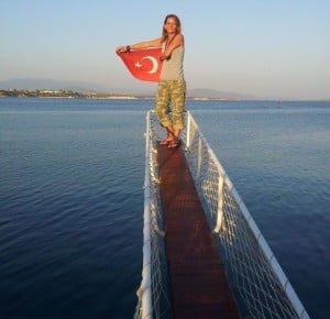 Travelling in Turkey