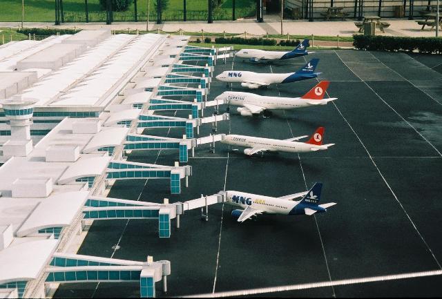 miniaturk - istanbul airport