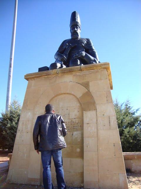 Haci Bektas statue
