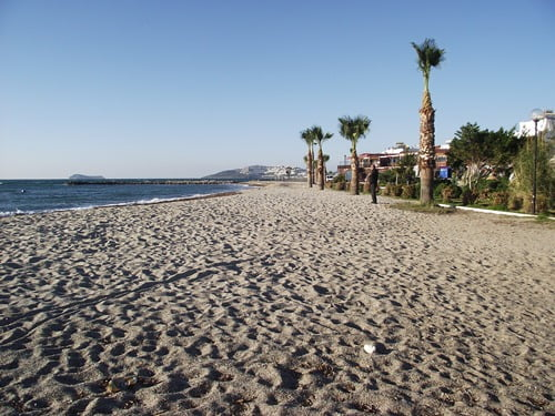 Turgutreis Beach Turkey