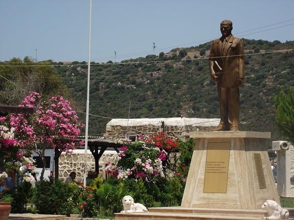 Statue of Mustafa Kemal Ataturk