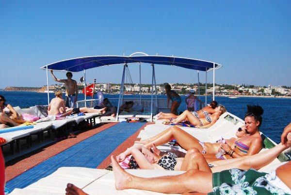 Altinkum Boat trips