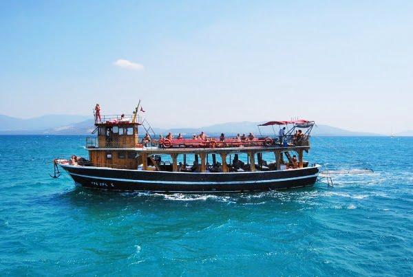 Altinkum boat trip