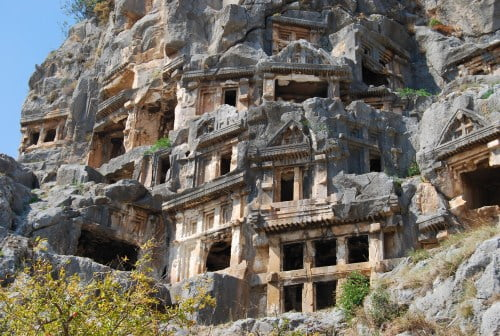 Lycian Rock Tombs at Myra