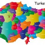 Map of turkey and provinces