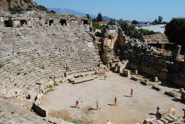 Theater at Myra