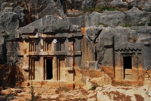 Two Lycian Rock Tombs