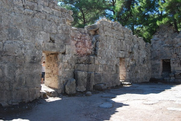 Houses at Phaselis