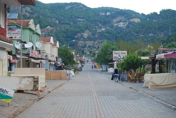 Olu Deniz Main Street