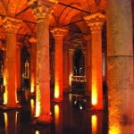 The Basilica Cistern of Istanbul and the Heads of Medusa