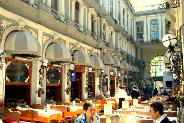 Places to eat and drink in Istanbul