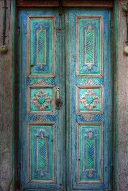 Door to mosque in Black sea region