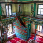 The Colourful Wooden Mosque of Maral
