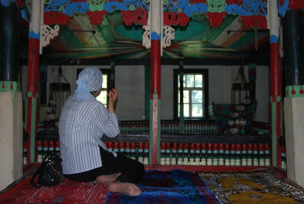 Ladies section in mosque