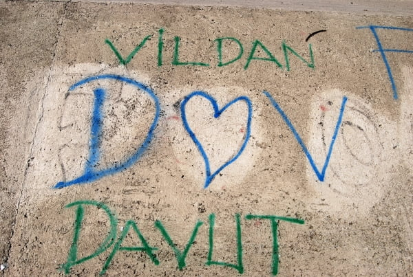 Vildan and Davut are obviously a couple