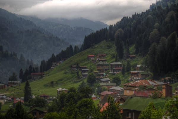 Ayder plateau Turkey