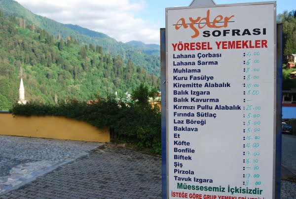 Restaurant ayder plateau
