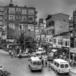 Trabzon city in Turkey