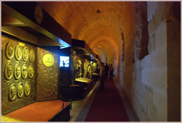 Exhibitions of Gaziantep castle