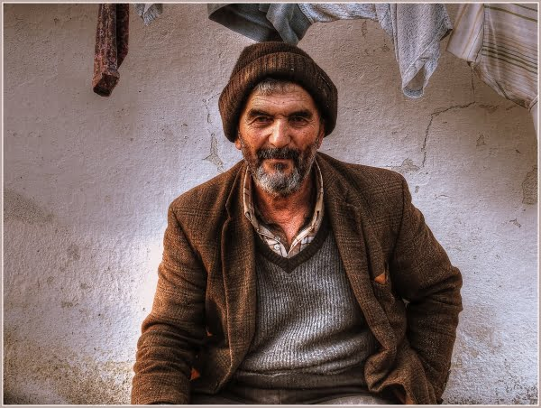Local man of a small turkish village