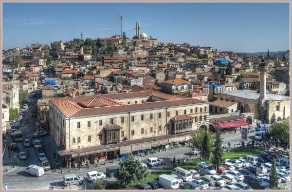 View from Gaziantep Castle