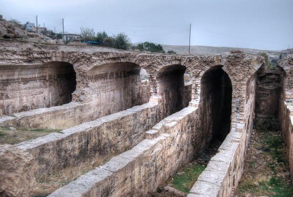 Water cistern at Dara