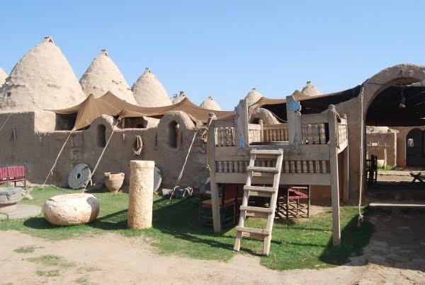 Harran beehive houses in southeastern Turkey
