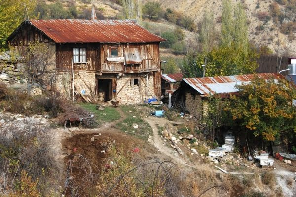 Turkish village house