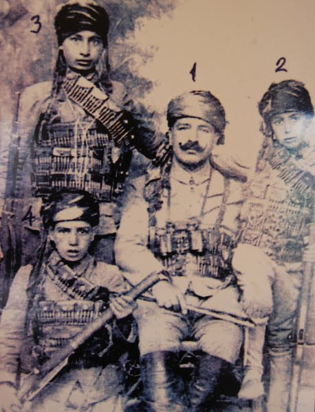 Old picture from the Gaziantep war museum