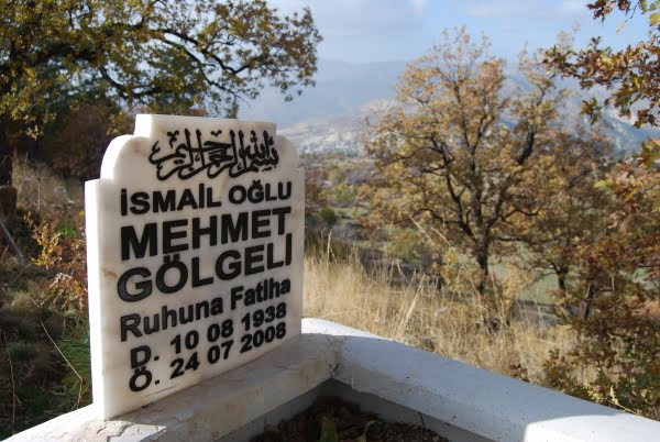 View from Kozalan koyu Graveyard