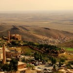 View Over Mesopotamian Plains From Mardin
