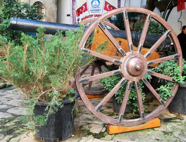 Gaziantep War museum artefact