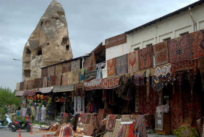 Carpet shop in Goreme