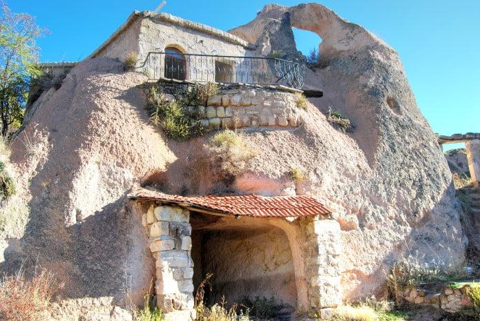 Cave house in Cappadocia