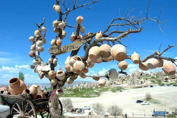 Pottery Tree of Goreme