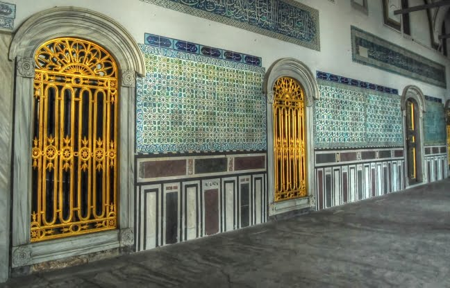 Doorways Topkapi palace