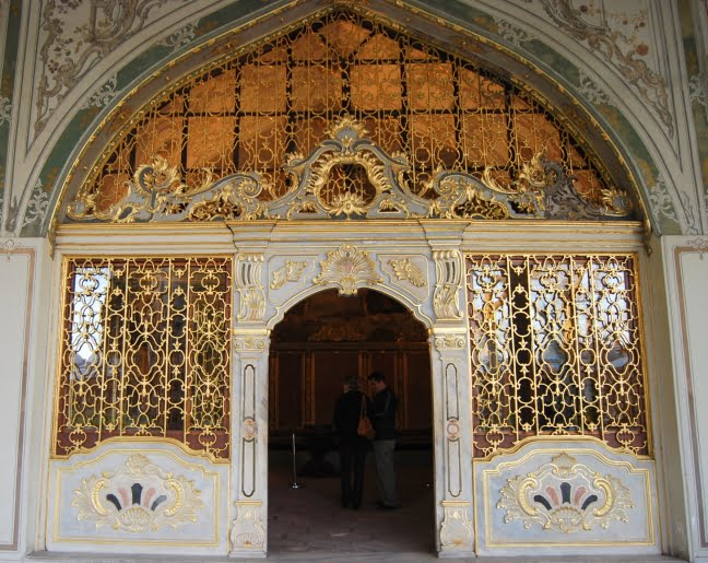 Entrance to the harem of Topkapi