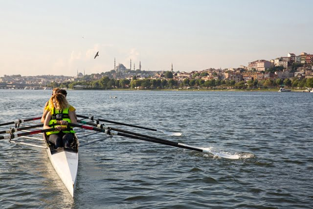 Rowing Istanbul