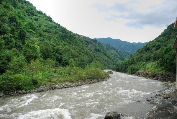 Firtina river Camlihemsin
