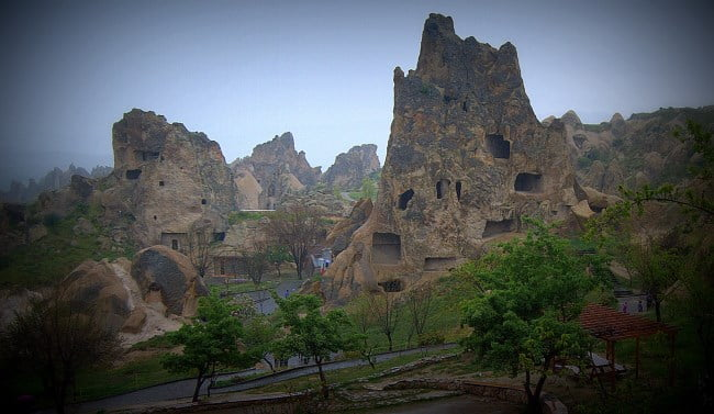Goreme Open Air museum in Cappadocia, Turkey
