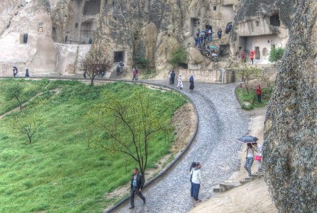 Goreme UNESCO site in Cappadocia Turkey
