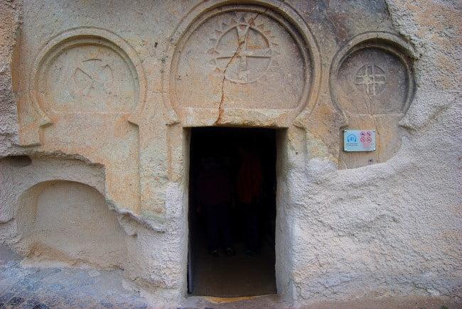 Open Air Museum in Goreme Cappadocia Turkey