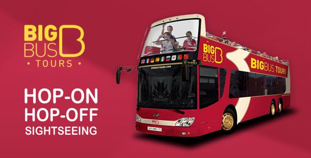 Big Bus tours