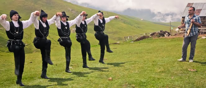Horon Dance of the Black sea region of Turkey