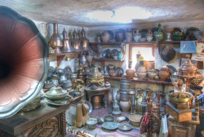 Antique shop in Cappadocia