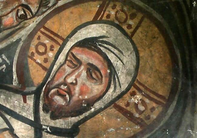 Frescoes of Keslik Monastery in Cappadocia