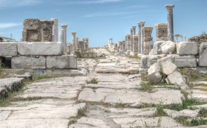 Laodicea Turkey. One of the Seven churches of Revelelation