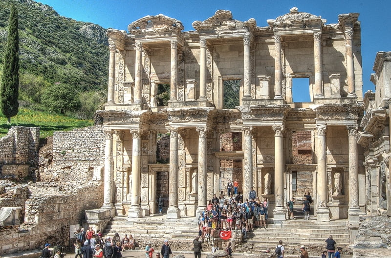 In 135 The From Library Celsus Ad Ephesus Hookup