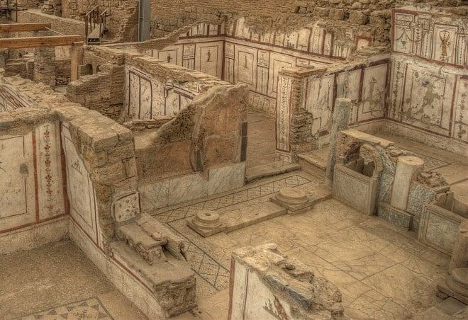 Terrace houses at Ephesus