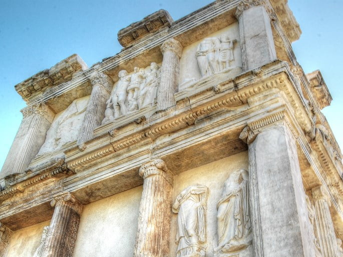 Aphrodisias ancient ruins in Turkey